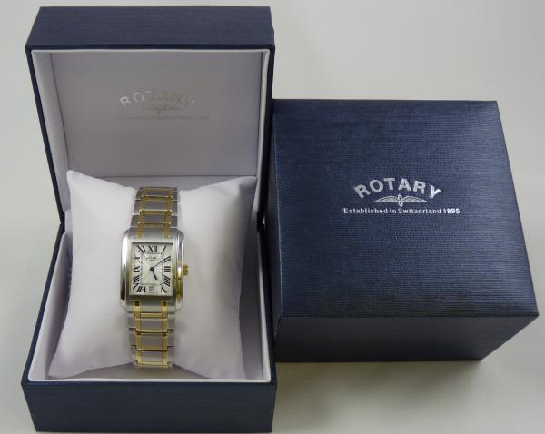 Rotary Gents Two Tone Dress Watch