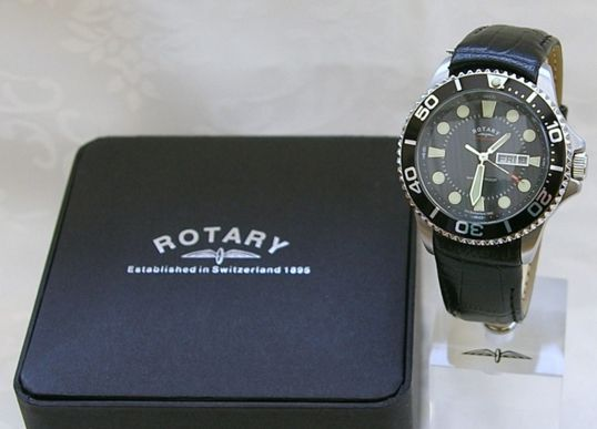 Rotary Day Date Divers Watch