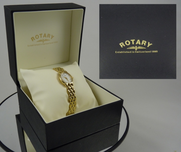 Ladies Gold Rope Watch