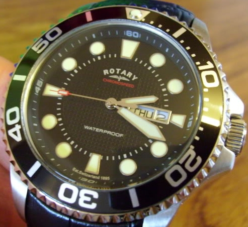Rotary Divers Watch