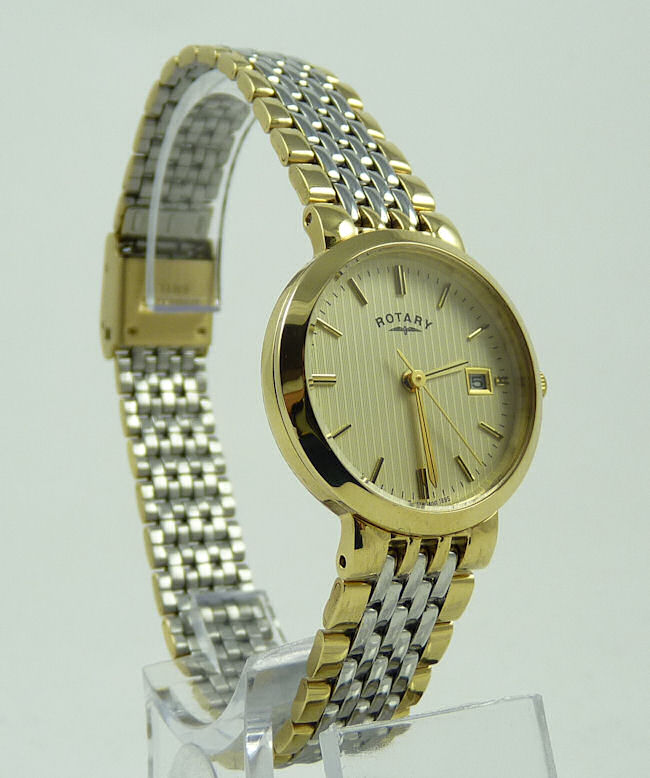 Ladies Rotary 2 Tone Watch