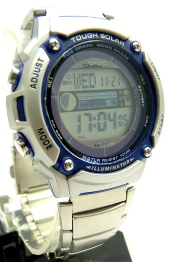 casio water resistant watch instructions